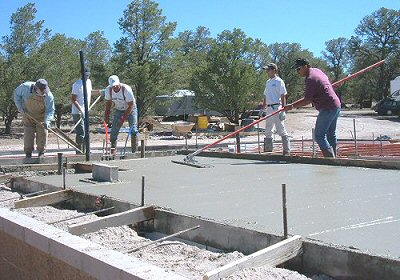concrete foundations and slabs in catron county new mexico